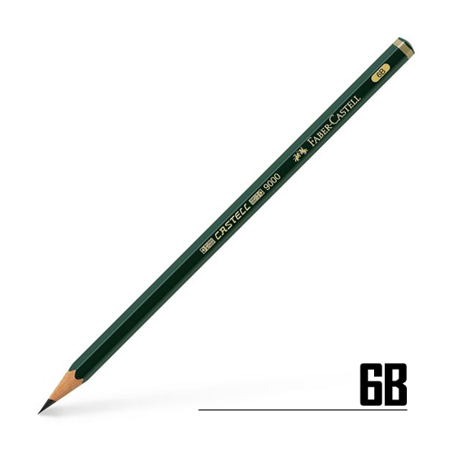 ファーバーカステル カステル9000鉛筆 6B