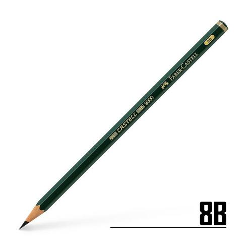 ファーバーカステル カステル9000鉛筆 8B