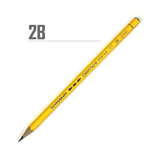 カランダッシュ テクノグラフ鉛筆 2B
