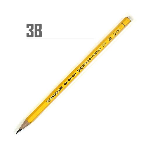 カランダッシュ テクノグラフ鉛筆 3B