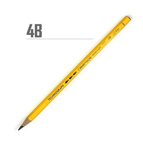 カランダッシュ テクノグラフ鉛筆 4B