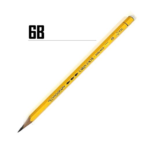 カランダッシュ テクノグラフ鉛筆 6B