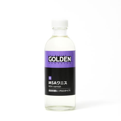 ゴールデン MSAワニス[グロスタイプ]250mlビン