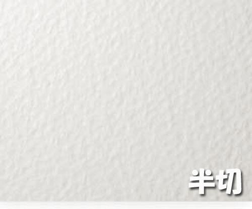 ランプライト水彩紙(300g)4/6判半切:10枚