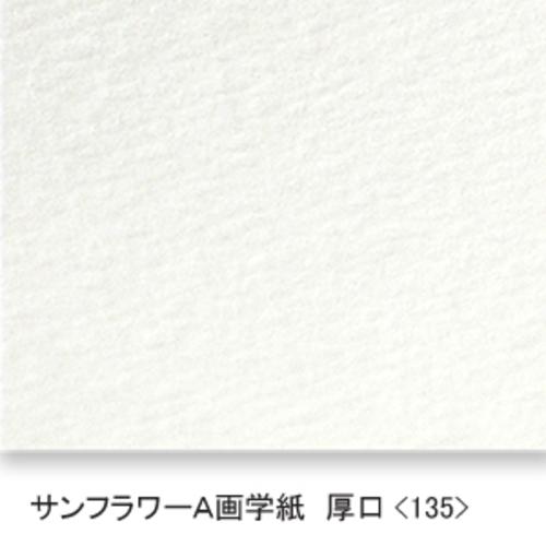 サンフラワーA画学紙(厚口・135K)B本判:5枚