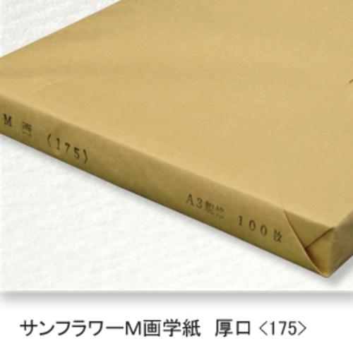 サンフラワーM画学紙(特厚口・175K)A3[100枚包]