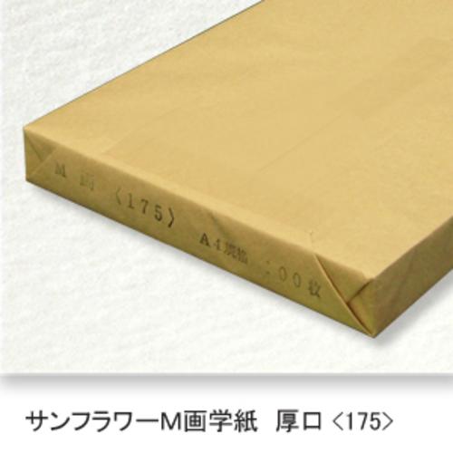 サンフラワーM画学紙(特厚口・175K)A4[100枚包]