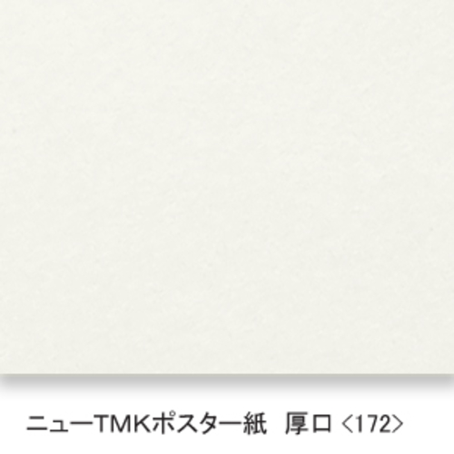 ニューTMKポスター紙(厚口・172K)B本判:5枚