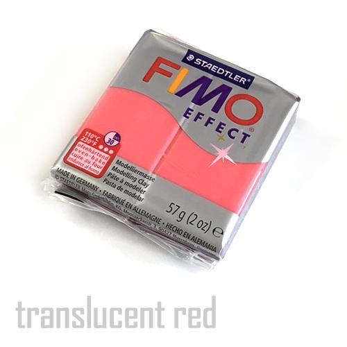 フィモエフェクト 半透明レッド(8020-204)