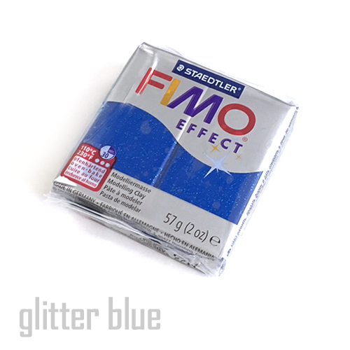 フィモエフェクト グリッターブルー(8020-302)