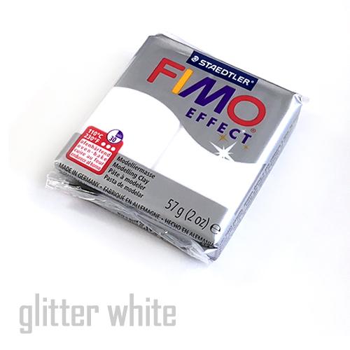 フィモエフェクト グリッターホワイト(8020-052)