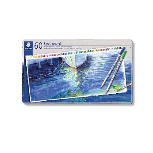 ステッドラー カラトアクェレル水彩色鉛筆 60色セット(125 M60)