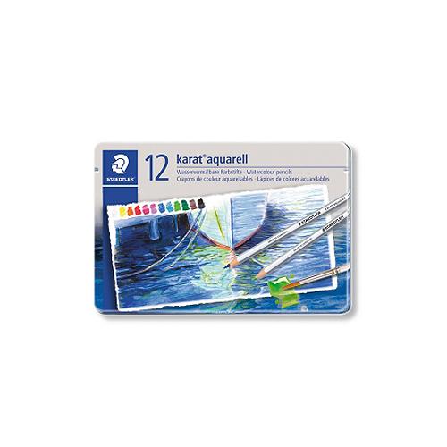 ステッドラー カラトアクェレル水彩色鉛筆 12色セット(125 M12)