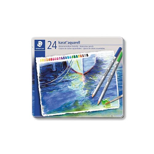 ステッドラー カラトアクェレル水彩色鉛筆 24色セット(125 M24)