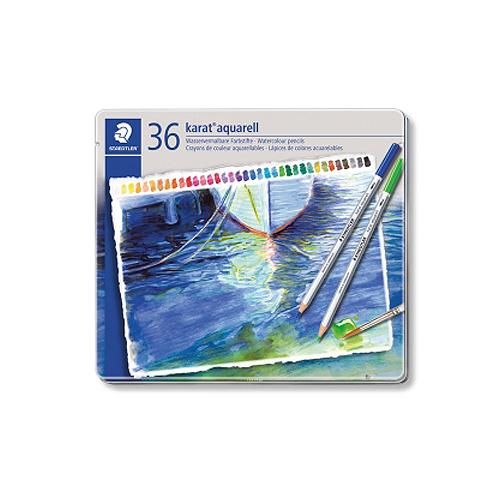 ステッドラー カラトアクェレル水彩色鉛筆 36色セット(125 M36)