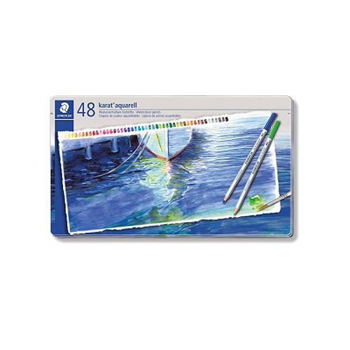 ステッドラー カラトアクェレル水彩色鉛筆 48色セット(125 M48)