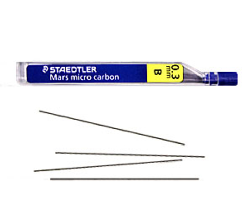 ステッドラー シャープ芯 マルス マイクロカーボン[0.3mm]B(250 03-B)