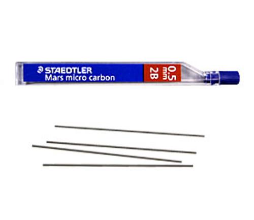 ステッドラー シャープ芯 マルス マイクロカーボン[0.5mm]2B(250 05-2B)