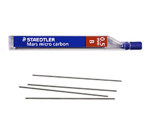 ステッドラー シャープ芯 マルス マイクロカーボン[0.5mm]B(250 05-B)