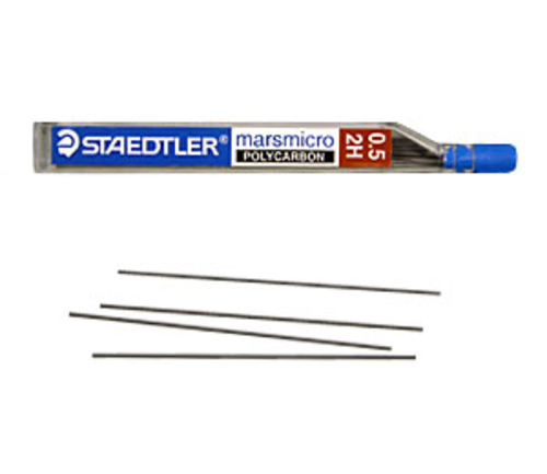 ステッドラー シャープ芯 マルス マイクロカーボン[0.5mm]2H(250 05-2H)