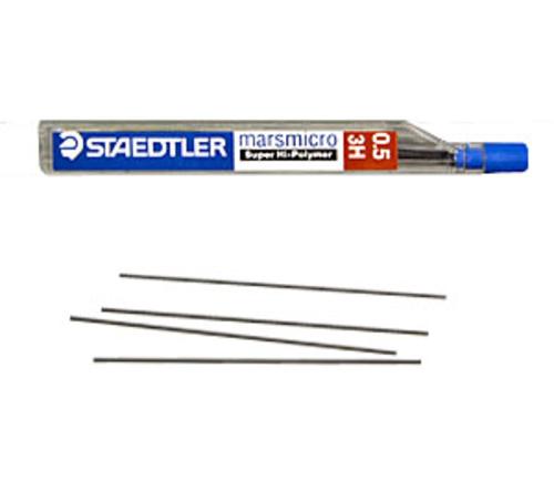 ステッドラー シャープ芯 マルス マイクロカーボン[0.5mm]3H(250 05-3H)