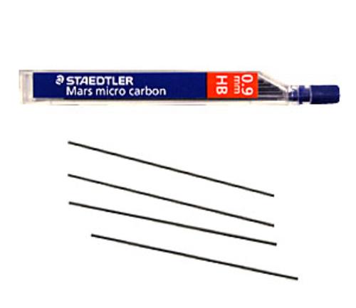 ステッドラー シャープ芯 マルス マイクロカーボン[0.9mm]HB(250 09-HB)
