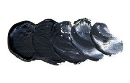 ホルベイン 油絵具6号(20ml) H153 ピーチブラック