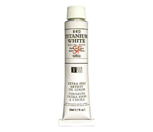 ホルベイン 油絵具10号(50ml) H413 チタニウムホワイト