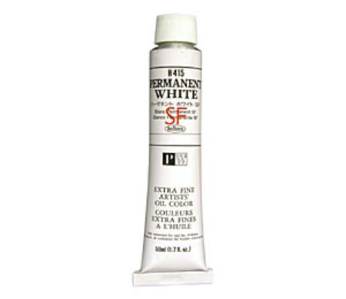 ホルベイン 油絵具10号(50ml) H415 パーマネントホワイトSF