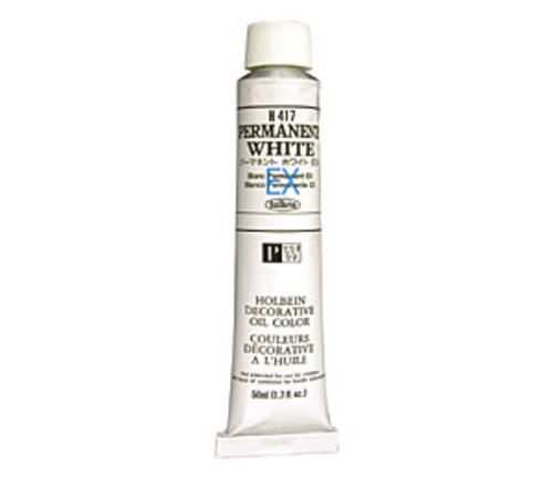 ホルベイン 油絵具10号(50ml) H417 パーマネントホワイトEX