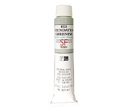 ホルベイン 油絵具20号(110ml) H533 ファンデーション グリニッシュ