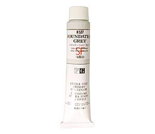 ホルベイン 油絵具20号(110ml) H537 ファンデーション グレイ