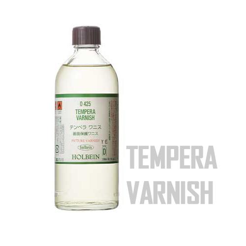 ホルベイン テンペラワニス200ml(O425)