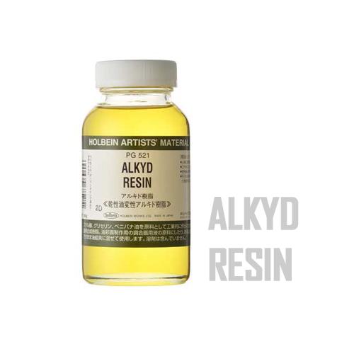 ホルベイン アルキド樹脂180ml(PG521)