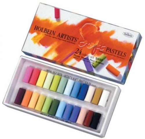 ホルベイン アーチストソフトパステル 24色セット(S950)