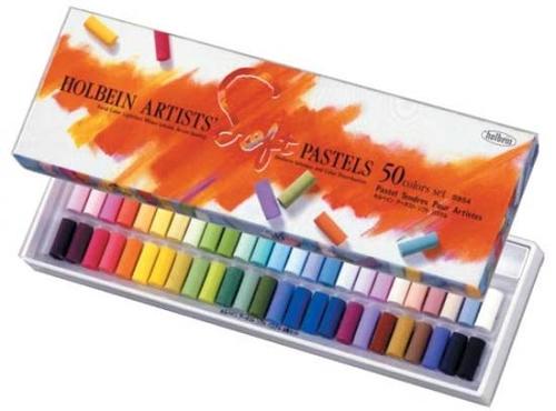 ホルベイン アーチストソフトパステル 50色セット(S954)