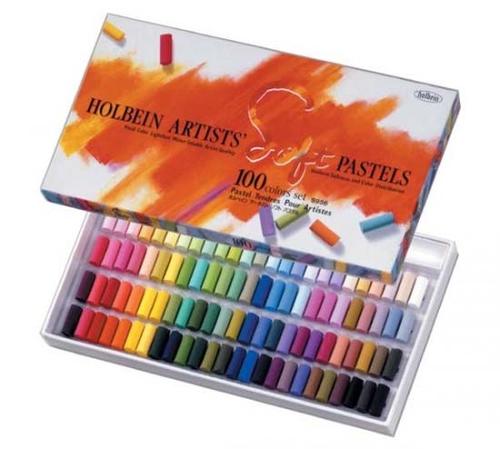 ホルベイン アーチストソフトパステル 100色セット(S956)