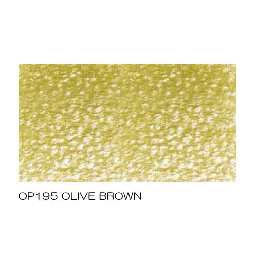 ホルベイン アーチスト色鉛筆 OP195オリーブブラウン