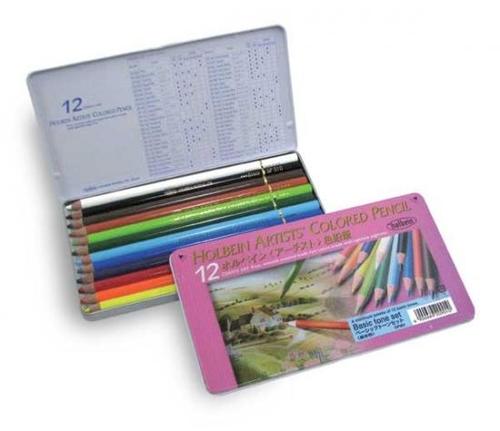 ホルベイン アーチスト色鉛筆 12色セット[ベーシック](OP901)
