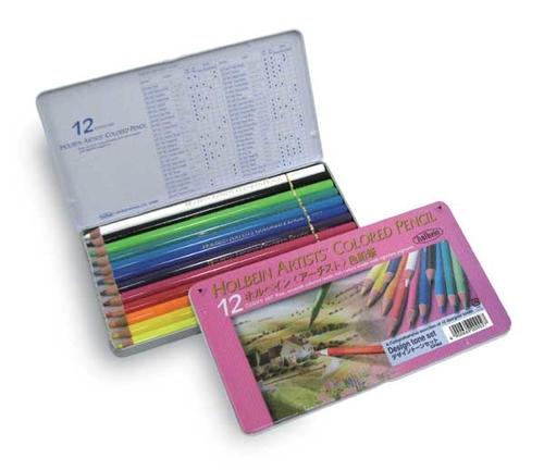 ホルベイン アーチスト色鉛筆 12色セット[デザイン](OP902)