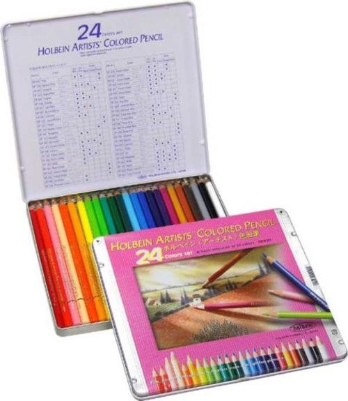ホルベイン アーチスト色鉛筆 24色セット(OP920)