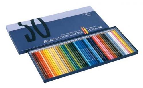 ホルベイン アーチスト色鉛筆 50色セット(OP935)