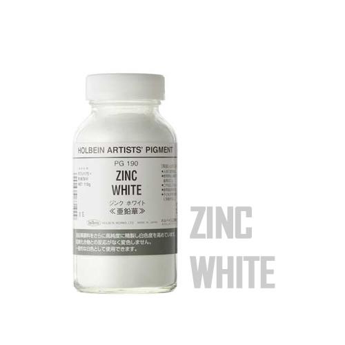 ホルベイン顔料 ジンクホワイト110g(PG190)