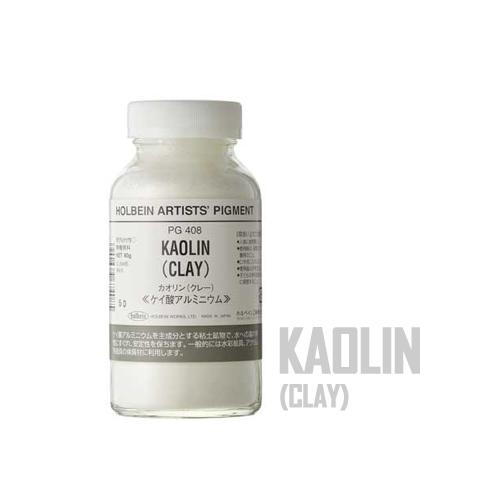 ホルベイン カオリン[クレー]60g(PG408)