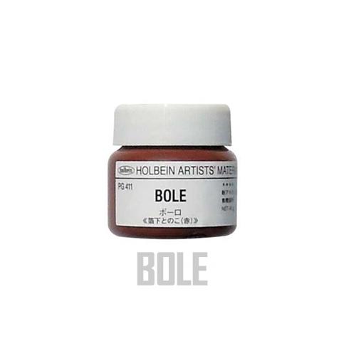 ホルベイン ボーロ[箔下とのこ・赤]40g(PG411)