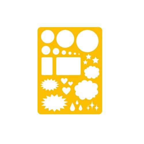 マービー コミック用ふきだしテンプレートNo.1(012-0016)