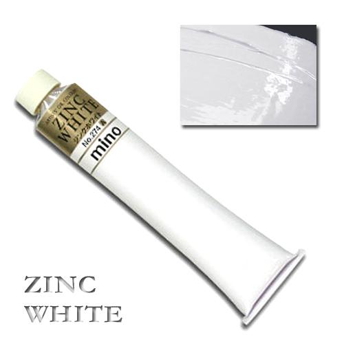 ミノー油絵具 20号(110ml) 274ジンクホワイト
