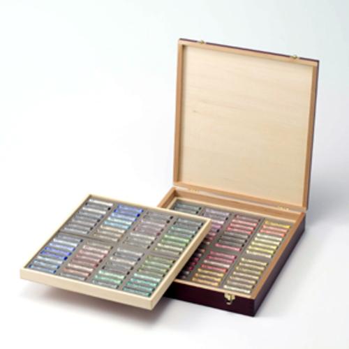 ラウニー ソフトパステル[木箱]128色セット