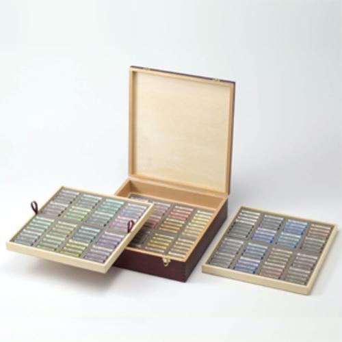 ラウニー ソフトパステル[木箱]186色(192本)セット