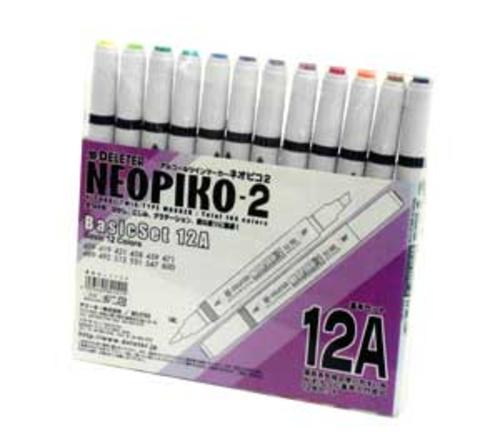 デリーター ネオピコ[2]基本12色セット(12A)
